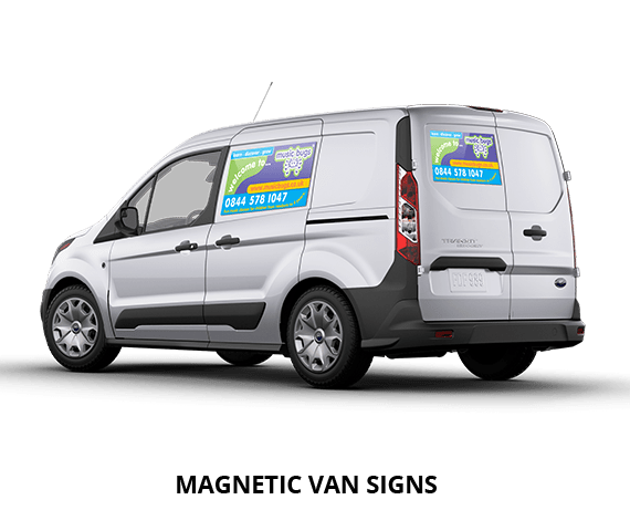 Magnetic Vehicle Signs Car Door Van